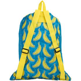 speedo Deluxe Ventilator Sac en maille L, blue/yellow print